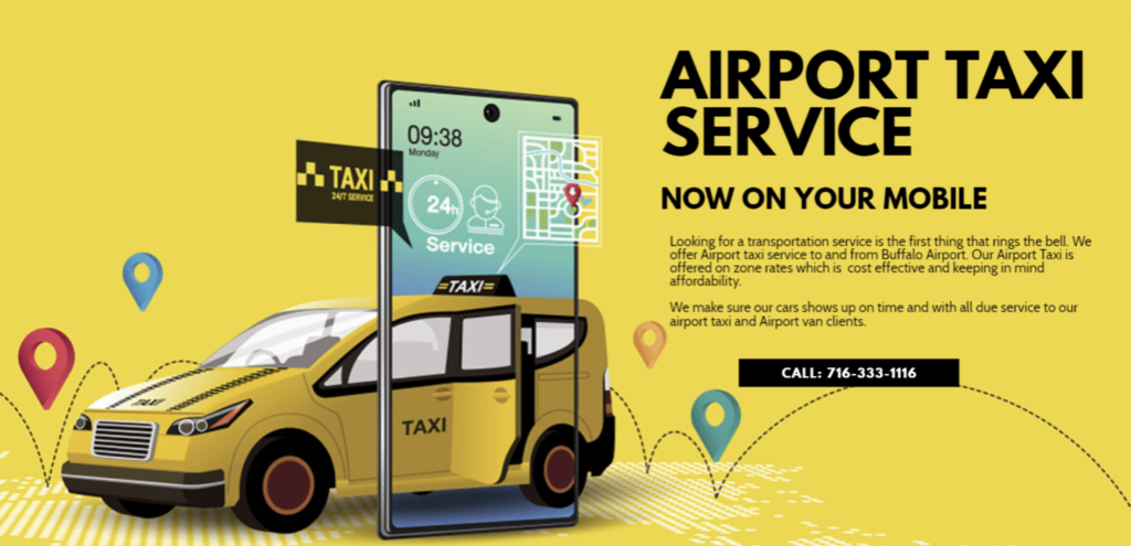 Taxi from Buffalo Airport to Canada Niagara Falls NY side, Niagara Falls Canada, Toronto and Anywhere in Canada